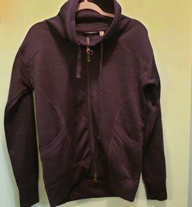 Zella long sleeve zipper sweater